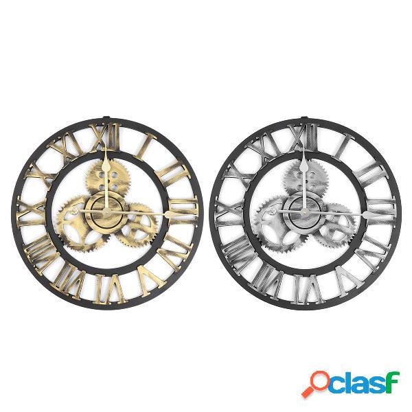 Orologio da parete vintage con numeri romani da 50 cm orologio da parete per artisti da camera da letto