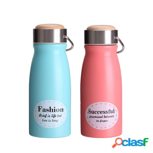 Acciaio inossidabile termos cup candy color carino pattern thermos cup
