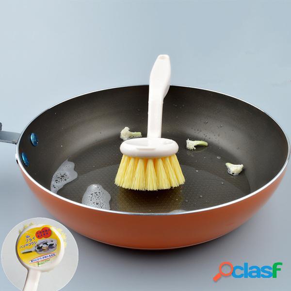Pennello per la pulizia del vaso bianco stile semplice stile giapponese