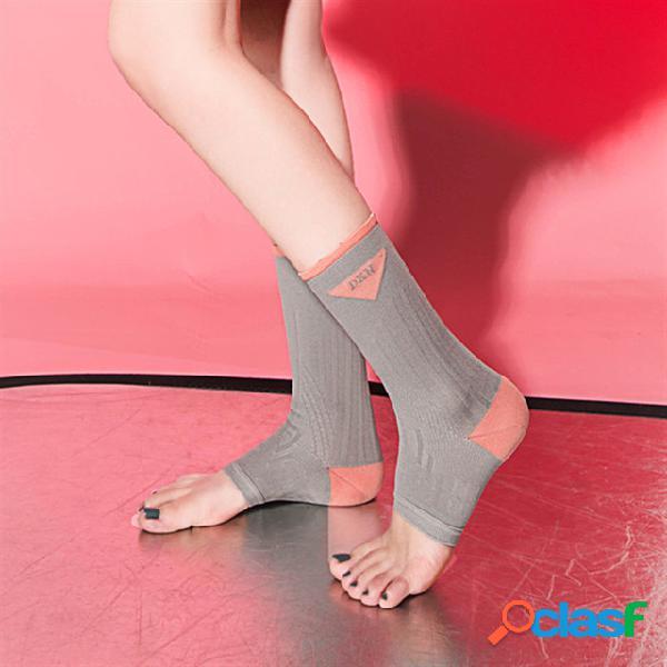Nylon stepping calze set caviglia piede calze stock sports basketball ankle calze