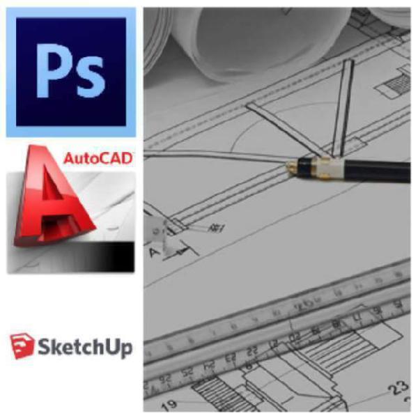 Lezioni online di disegno tecnico, photoshop ed autocad