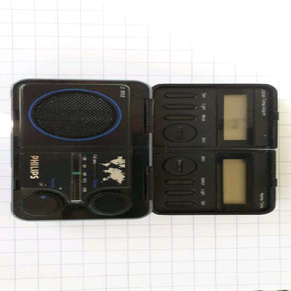 Philips radio sveglia mini anni 80