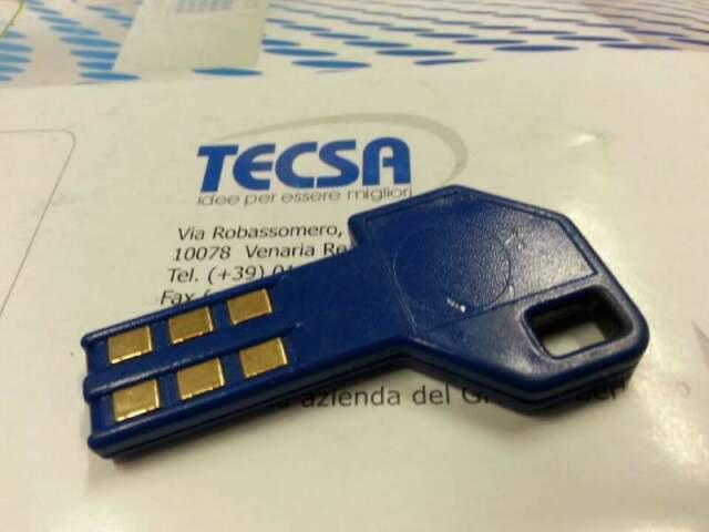 Tecsa chiavi microprocessore per antifurto