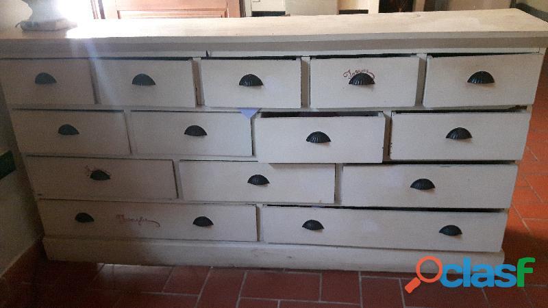 Cassettiera in legno ,900