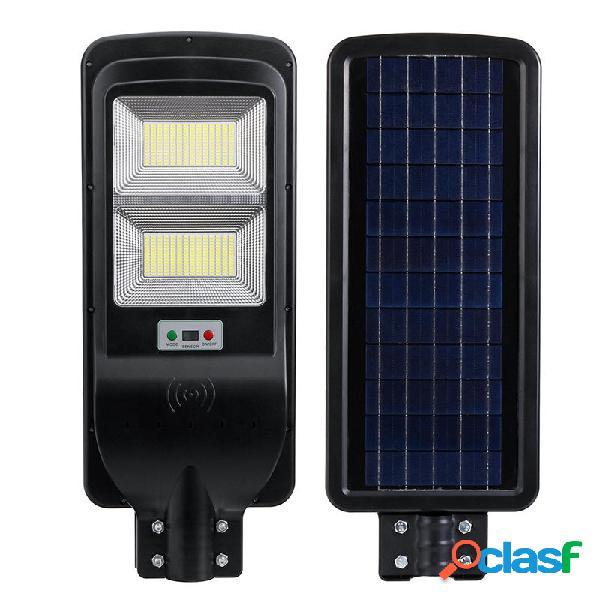540w 364led solare controllo della temporizzazione dellilluminazione stradale + controllo della luce parete esterna