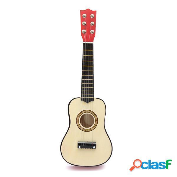 Corda per chitarra acustica 6 da 21 pollici per principianti con pick