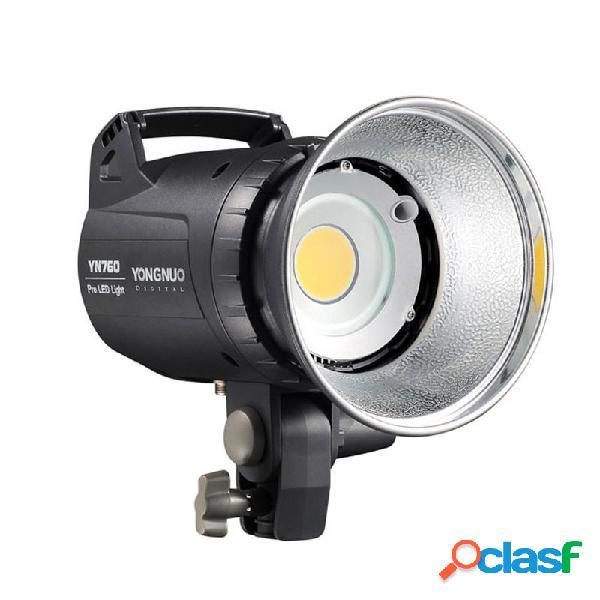 Yongnuo yn760 led luce video per fotografia da studio lampada luminosità regolabile della temperatura del colore 5500k