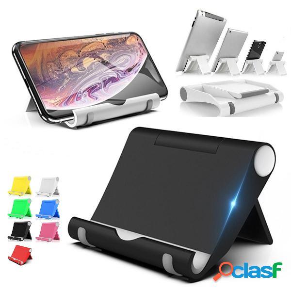 Supporto per tablet portatile da tavolo pieghevole da tavolo per tablet smartphone per iphone 11 pro max per samsung gal