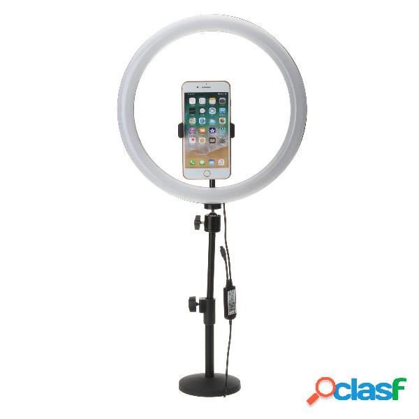 13 pollici rgb dimmerabile led video ring light selfie lampada per fotografica trucco youtube live