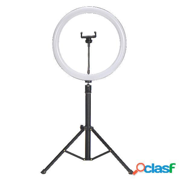 1 set flash led fill light supporto da tavolo rimovibile per telefono con supporto per treppiede rimovibile