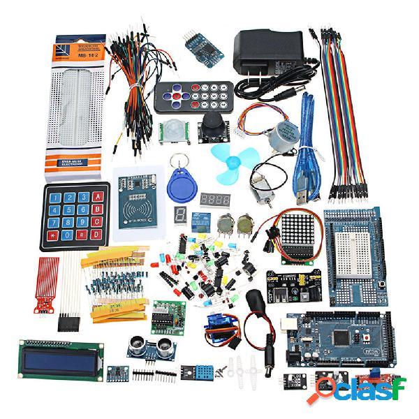 Geekcreit mega 2560 i kit di avviamento definitivi più completi no batteria versione geekcreit per arduino - prodotti ch