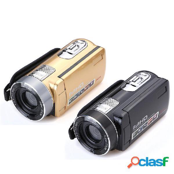 Hd 1080p 24mp 18x zoom 3.0 pollici lcd videoregistratore digitale ir night version dv fotografica videocamera dvr