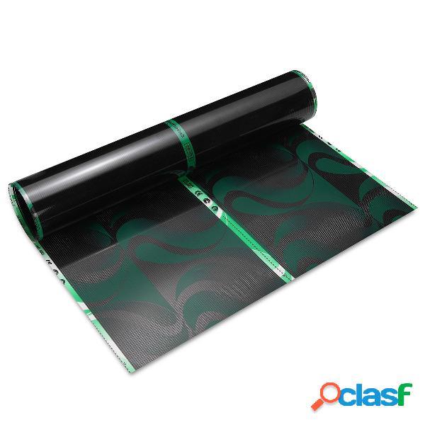 80 cm 0,5 m / 1m/2 m / 3m 220 v far infrarossi riscaldamento a pavimento pellicola cristallo fibra di carbonio vinile pe