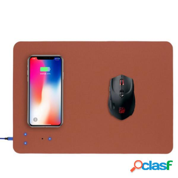 Bakeey qi mouse pad di ricarica wireless per iphone x 8 8 plus samsung s8 s7 note 8