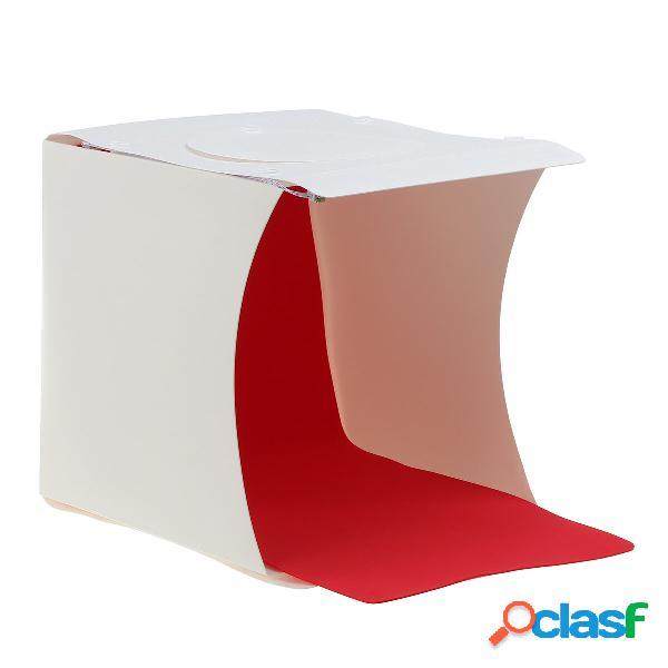 Kit per tende per illuminazione fotografica per studio fotografico led portatile scatola con 6 fondali