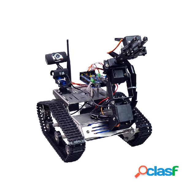 Serbatoio di controllo video wifi robot intelligente xiao r diy con fotografica gimbal compatibile con 2560