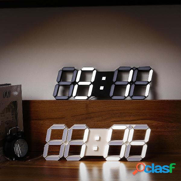 Multi-funzionale remoto controllo grande led orologio da parete digitale con timer per il conto alla rovescia temperatur