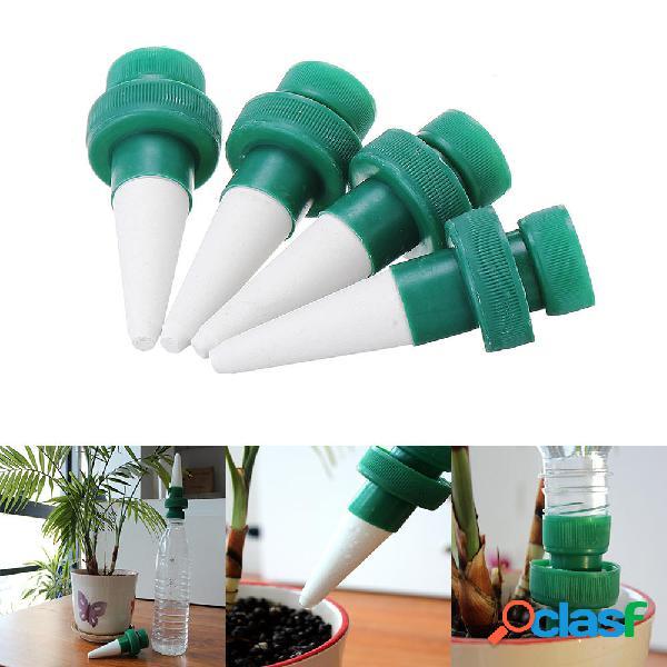 4pcs / set dispenser di gocce dacqua per giardino dispenser automatico di flusso dacqua da giardino kit per ir