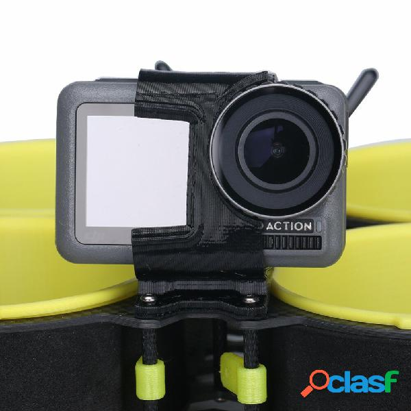 Iflight dji osmo action fotografica supporto per calabrone verde / bumblebee cinewhoop 15 ° tpu stampato in 3d