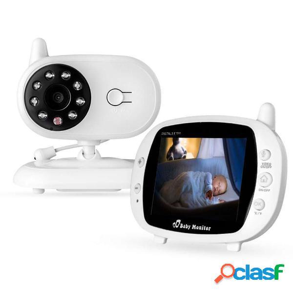 Monitor da 3,5 pollici baby monitor 2,4 ghz video lcd digital fotografica monitor di monitoraggio della temperatura per