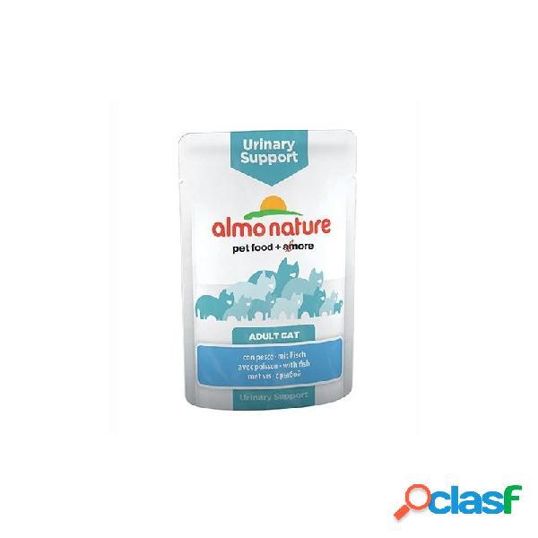 Almo nature - almo nature urinary support cibo umido per gatti - 10x70 gr 10x70 gr pollame