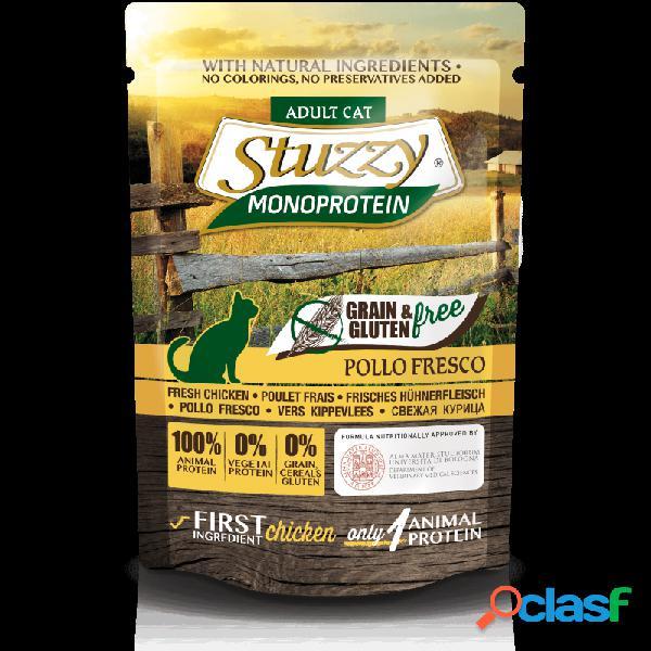 Stuzzy monoprotein - stuzzy monoprotein adult cat cibo umido per gatti 8x85 gr pollo