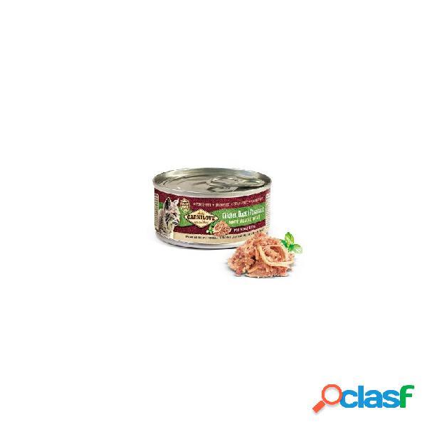 Carnilove - carnilove pollo anatra e fagiano cibo umido per gatti 6 lattine da 100 gr