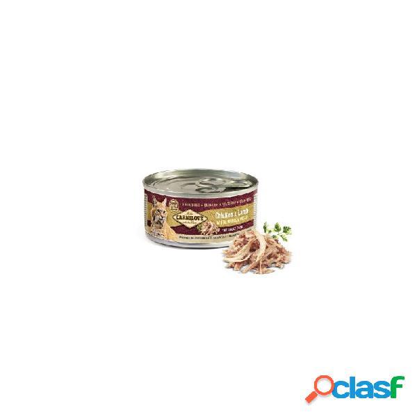 Carnilove - carnilove pollo e agnello cibo umido per gatti 6 lattine da 100 gr
