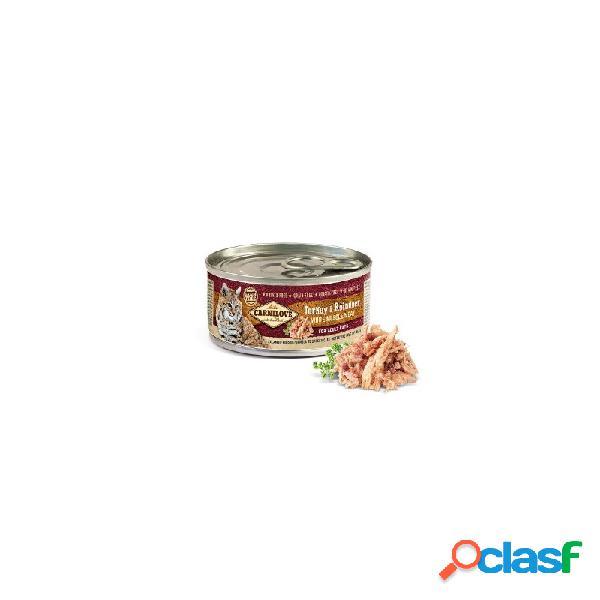 Carnilove - carnilove tacchino e renna cibo umido per gatti 6 lattine da 100 gr