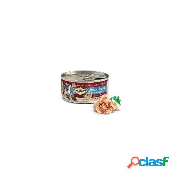 Carnilove - carnilove tacchino e salmone cibo umido per gatti 6 lattine da 100 gr