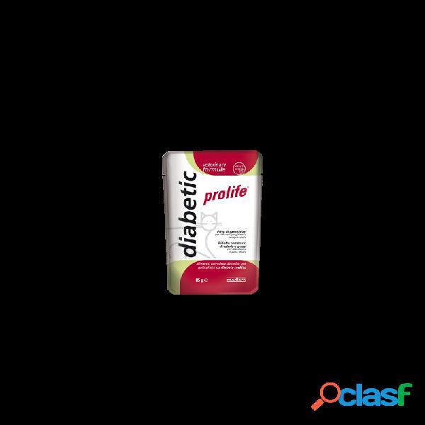 Prolife veterinary formula - prolife diabetic umido per gatti 12 bustine da 85 gr