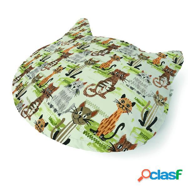 Camon - cuscino per gatti cats brown diametro cm 70 - altezza cm 10