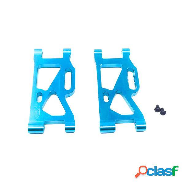 2pcs wltoys 144001 pezzi di ricambio per veicoli con braccio oscillante per sospensione posteriore in metallo aggiornato