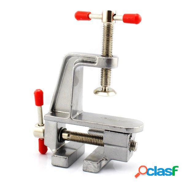 Fpv racing strumento mini fai da te di lega di alluminio ganascia da tavolo apparecchiatura whirligig a 360 gradi per rc