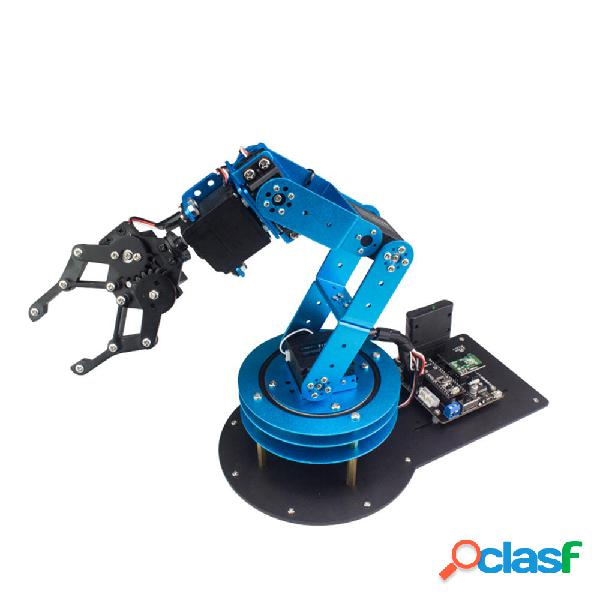 Lobot learm 6dof kit braccio robot intelligente rc open source con servi per stm32/51 singolo chip / nano