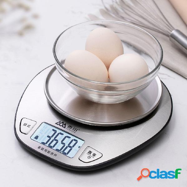 5000g / 1g cucina elettronica peso scala cottura digitale ad alta precisione scala da xiaomi youpin