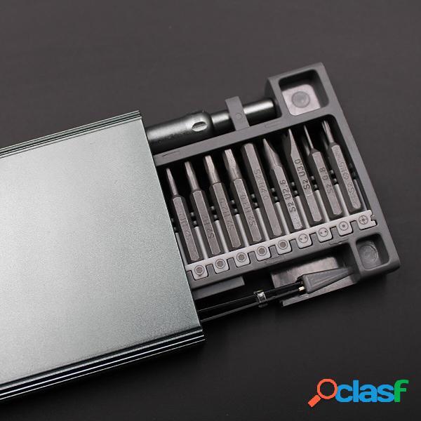50 in 1 magnetico cacciavite set per riparazione cellphone pc orologio cuffie giocattoli per aerei