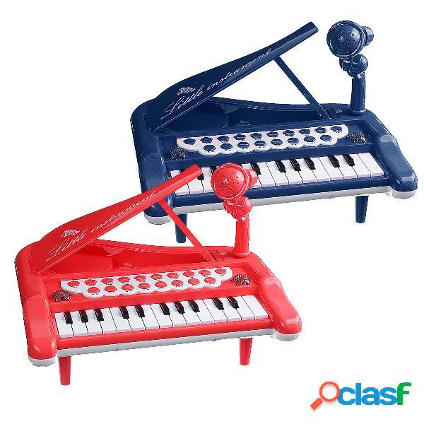 25 chiave elettronica tastiera pianoforte bambino bambini giocattolo educativo musicale regalo di compleanno