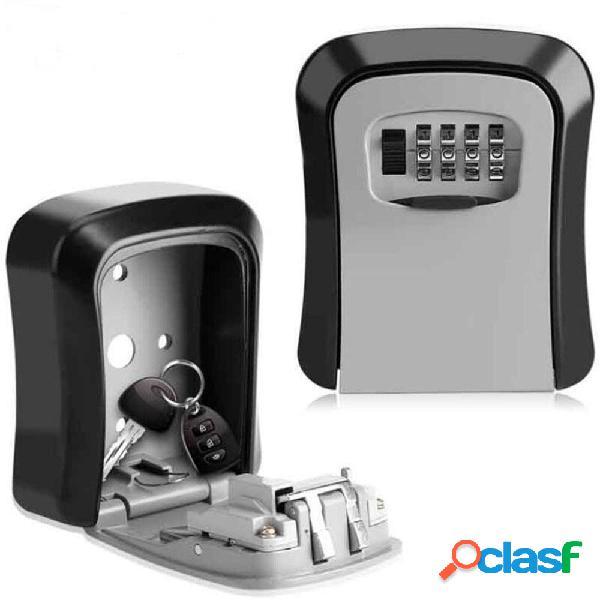 Lega di alluminio password scatola chiave a parete serratura scatola codice a 4 cifre combinazione di chiavi serratura s