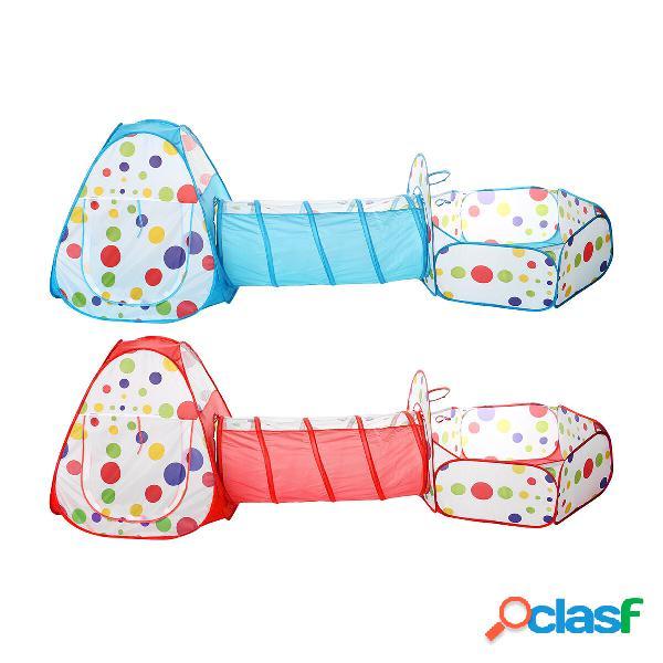 Tenda per tunnel strisciante per bambini gioca a giochi per bambini da 0 a 3 anni regalo perfetto