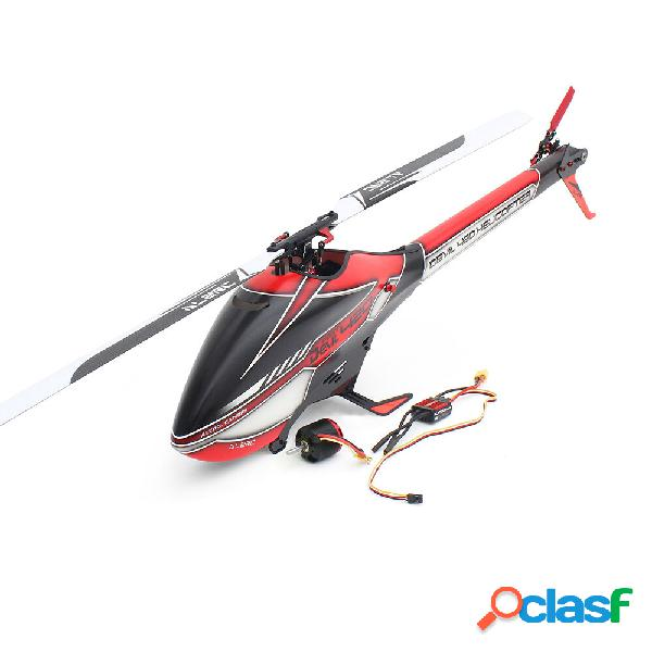 Alzrc devil 420 fast fbl 6ch 3d flying rc elicottero combo standard con 3120 pro motore senza spazzola 60a v4 esc