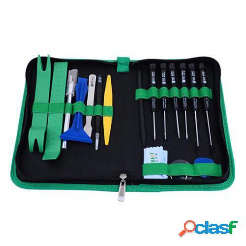 Best bst-112 22 in 1 kit di riparazione per pc professionale per telefoni cellulari set di apertura leva di sollevamento