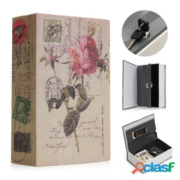 Mini dizionario nascosto dizionario libro cassaforte cassaforte per gioielli serratura sicurezza scatola regali speciali