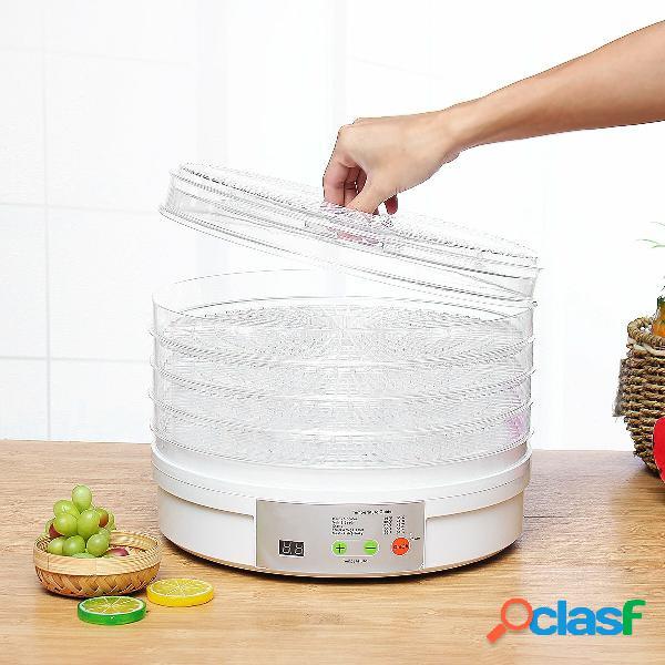 5 tiers elettrico macchina disidratatore macchina frutta asciugatrice manzo verdura domestica carne carne materiali per
