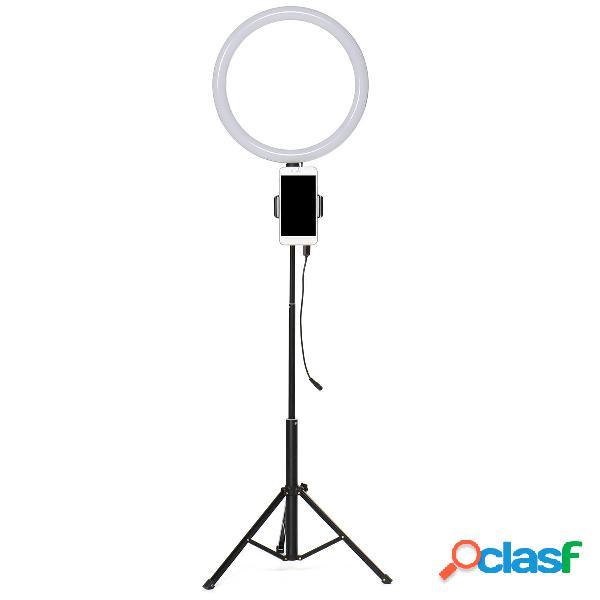 6500k led 13 pollici anello luminoso dimmerabile selfie photo lampada supporto per telefono per make up live studio