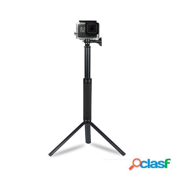 Sheingka dh288 selfie estensibile bastone monopiede per gopro hero dji osmo action fotografica smartphone