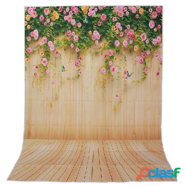 1.5x2.1m erba 5x7ft fiore vinile natura colorato studio fotografico sfondo sfondo