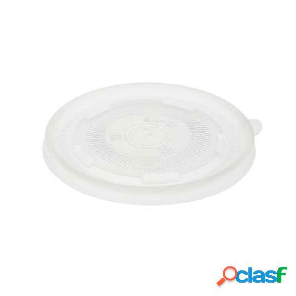 Coperchio duni per ciotola minestra in pp trasparente cm 12 - plastica monouso