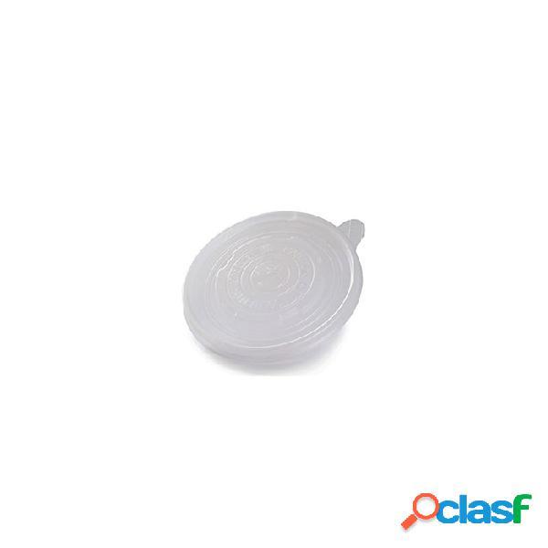 Coperchio monouso duni senza foro in pp trasparente per ciotola minestra cm 9 - plastica monouso