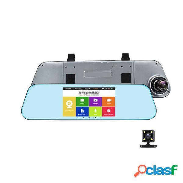 T29 dual dash cam specchietto retrovisore backup fotografica 1080p auto dvr parcheggio adas night vision